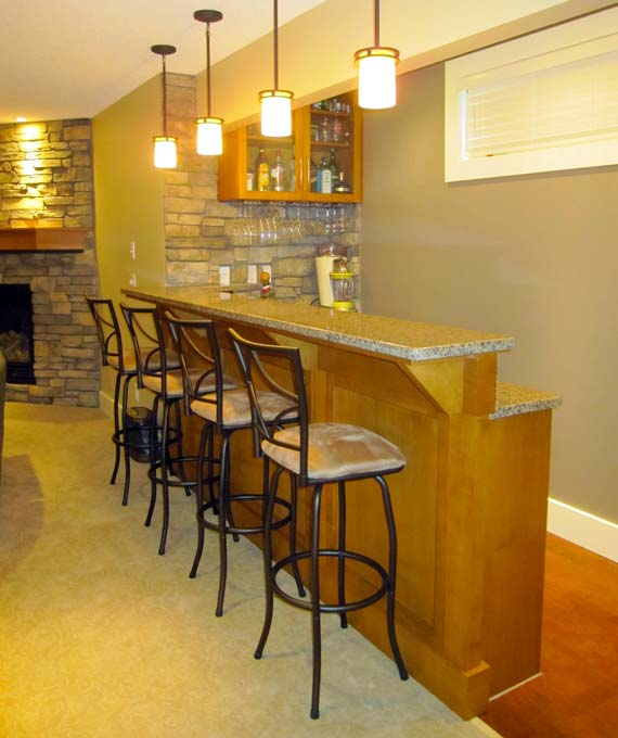 calgary basement development to suit your individual style